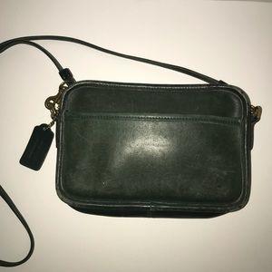 Vtg Coach Carnival Leather Crossbody handbag 9925